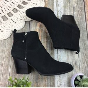 Nurture | Heeled Leather Chelsea Ankle Boots